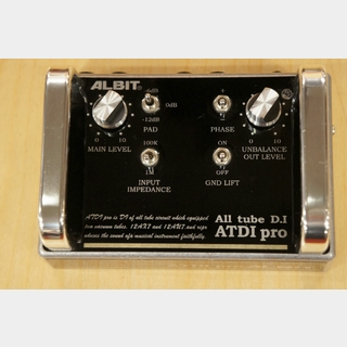 ALBIT ATDI pro [ALL TUBE D.I]【USED】