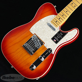 Fender USAAmerican Ultra Telecaster Ash (Plasma Red Burst/Maple)