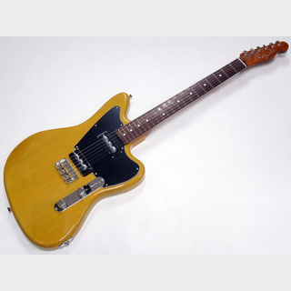 FenderMade in Japan Limited Mahogany Offset Telecaster P90 / Yellow Trans