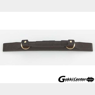 ALLPARTS Ebony Gold Compensated Bridge and Base/6087