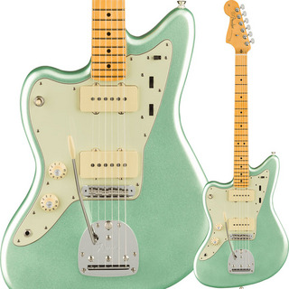 Fender USA American Professional II Jazzmaster Left-Hand (Mystic Surf Green/Maple)
