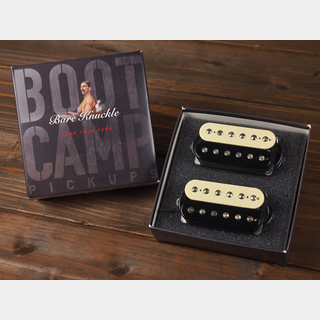 "Bare Knuckle Pickups""Boot Camp Series""  True Grit  / 6 String Humbucker / Bridge 50mm / Set  / Open Zebra"