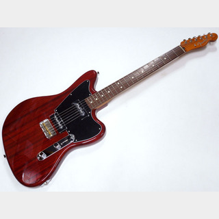 FenderMade in Japan Limited Mahogany Offset Telecaster P90 / Crimson Red Trans