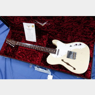 "Fender Custom Shop  Limited Edition 50's Telecaster Thinline ""Relic"" 2.70Kg"