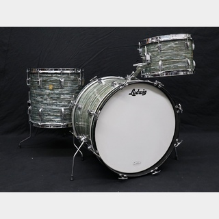 "Ludwig Ludwig 60`s DownBeat20""12""14"" BlueOysterPearl Beatoケースプレゼント"