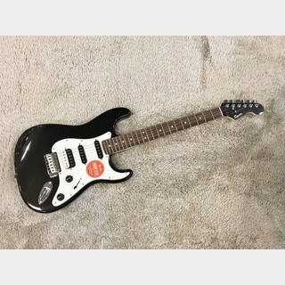 Squier by Fender Contemporary Stratocaster HSS Black Metallic 【限定特価】