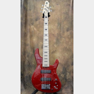 Fodera Fodera NYC Empire 5 Strings 70FH/24 Trans Red