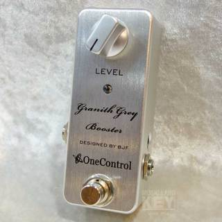ONE CONTROL Granith Grey Booster【One Control定番ブースター!!】