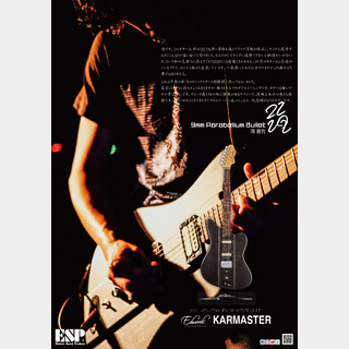 EDWARDS  Platinum Edition KARMASTER [9mm Parabellum Bullet 滝 善充 Signature Model]