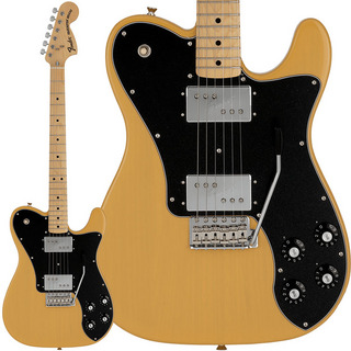 Fender Made in Japan Limited 70s Telecaster Deluxe with Tremolo (Butterscotch Blonde/Maple)