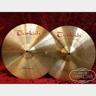 "TURKISH Millennium Hihat 14""(pair)【送料無料】"