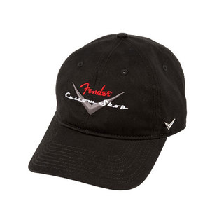 Fender Custom Shop Baseball Hat Size Fits Most Black キャップ