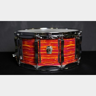 Ludwig Ludwig classic maple snare mod orange wrap