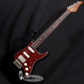 Suhr(正規輸入品) J Select Series Classic Antique S Roasted Flame Maple Neck SSH (Black/Rosewood) 【SN.JS0R5N】