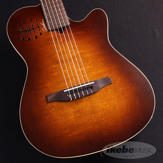 Godin Multiac Nylon Encore/Burnt Umber