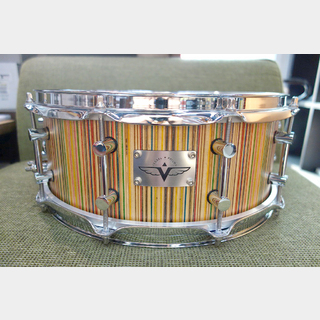 "Prisma Guitars&Vessel Drum Co 【最終値下げ!】SKATE SNARE 14""×5.5"""
