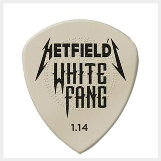 Jim Dunlop HETFIELD'S WHITE FANG CUSTOM FLOW PICK 【James Hetfield】【METALLICA】