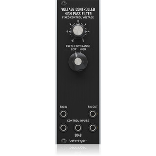 BEHRINGER 904B VC HIGH PASS FILTER アナログ ハイパスVCFモジュール【WEBSHOP】