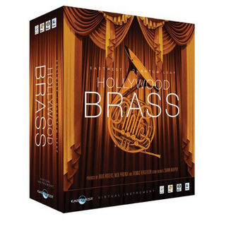EAST WEST EW203 QUANTUM LEAP Hollywood Brass Gold Edition 【渋谷店】