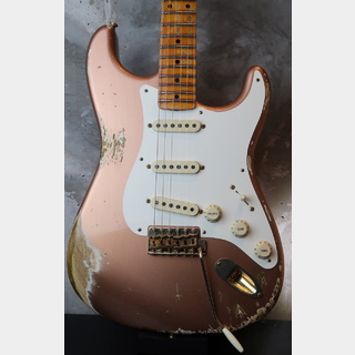Fender Custom Shop  Staratocaster 1957 Heavy Relic / RARE Aged Copper Finish / Gold Parts