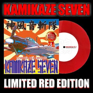 STOKYOKamikaze Seven (7inch Vinyl)(Limited Red Edition)【渋谷店】