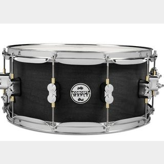 "PDP by DW PA-PDSN6514/WCR [Concept Series Black Wax Maple Snare Drum / 14""×6.5""]"