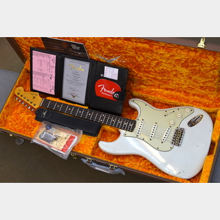 Fender Custom Shop Limited Edition 62/63 Stratocaster Journeyman Relic ~Aged Olympic White~ #CZ549877 【3.44kg】