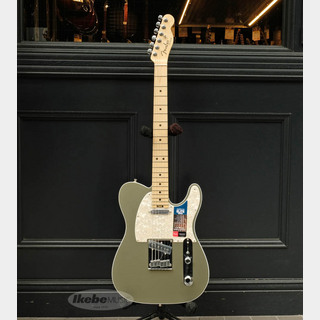 Fender American Elite Telecaster (Satin Jade Pearl Metallic/Maple)