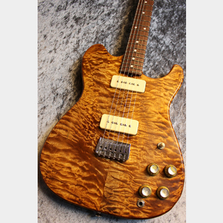 Red House Alba Quilt Maple Top Honduras Mahogany/Rosewood Trans Amber 【爆鳴り個体】【ホンマホボディー】