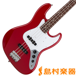 FenderHybrid 60s Jazz Bass Rosewood Torino Red