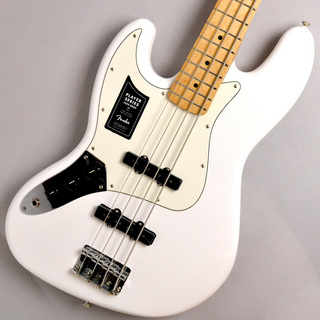 Fender PLAYER JAZZ BASS Left-Handed Maple Fingerboard Polar White #MX20128031【Made in Mexico】【送料無料】