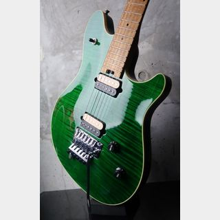 PEAVEY EVH Wolfgang Standard Flame Maple / Trans Green