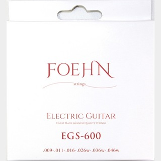 FOEHNEGS-600 Electric Guitar Strings Custom Light エレキギター弦 09-46
