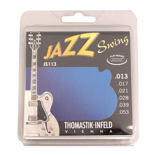 Thomastik-InfeldJS113 JAZZ SWING Flat Wound フラットワウンドギター弦