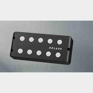 Delano Pickup MM style 5 9,5 mm ferrite  MC 5 FE /J double twin coil in-line humcanceller   (quad coil ) EB-Type