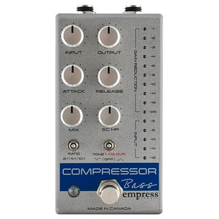 Empress Effects Bass Compressor Silver【新宿店】