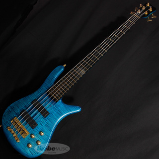 "WarwickCustom Shop Streamer Stage I 5st ""1990 Type"" (Turquoise Blue Transparent Satin) 【特価】"