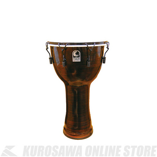 "TOCAFreestyle II Djembe 14"" - Spun Copper - Synthetic Head w/Bag[TF2DM-14SCB]《ジャンベ》【送料無料】"