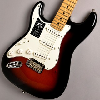Fender PLAYER STRATOCASTER Left-Handed/3-Color Sunburst #MX19142579 エレキギター/左利き用