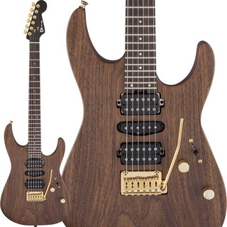 Charvel MJ Dinky DK24 HSH 2PT E MAH (Natural) [Made In Japan]
