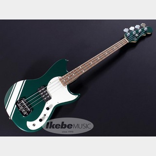G&L LTD Fallout Bass British Racing Green with White Racing Stripe【Ikebe45th 怒涛の決算大激売】
