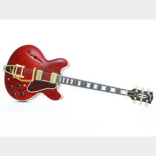 Gibson MemphisCustom Shop ES-355 VOS Bigsby Faded Cherry 2010 - 貴重なメンフィスカスタムショップのES-355 / USED -