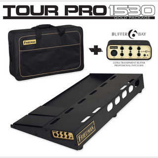 "Friedman TOUR PRO 1530 ""GOLD PACK"" [Pedal Board(L) & Carry Bag & Buffer Bay 6] 【お取り寄せ品。】"