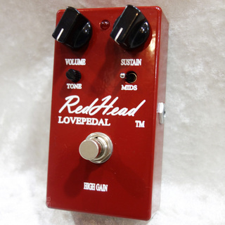 Lovepedal Red Head -USED-【マフ系ディストーションの中古品入荷!!】