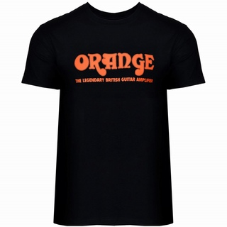 ORANGE Crassic T-Shirt Black XXL