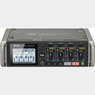 ZOOM F4 MultiTrack Field Recorder【WEBSHOP】