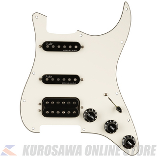 Fender Pre-Wired Strat Pickguard, Shawbucker Bridge/Gen 4 Noiseless Neck/Middle HSS 11 Hole (ご予約受付中)