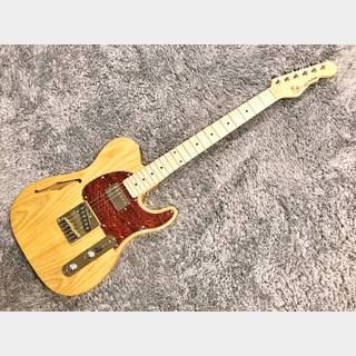 G&L Tribute ASAT Classic Bluesboy Semi-Hollow Natural/Maple 【2020年製】