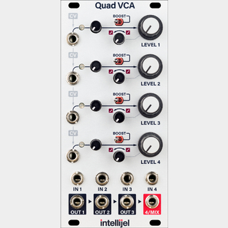 Intellijel QUAD VCA