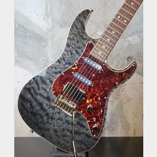TOM ANDERSON Drop Top Classic Transparent Black with Binding